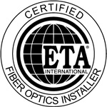 NacSpace is ETA certified for fiber optic cable installation in Nacogdoches, East Texas and beyond
