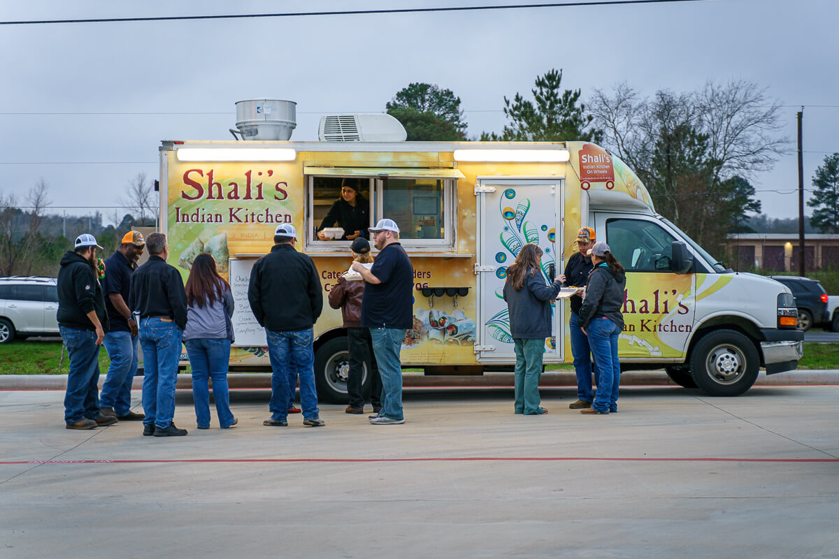 Shalis Food Truck at NacSpace