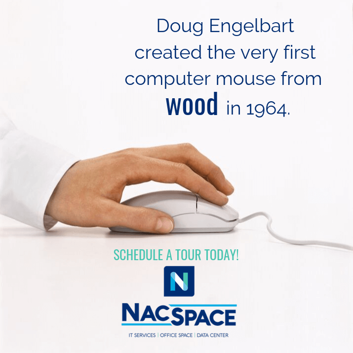 First Computer Wood Mouse - NacSpace Computer Support Nacogdoches TX