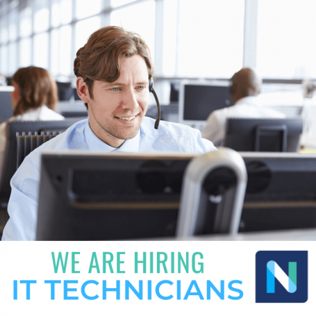 NacSpace IT services support job openings careers East Texas Nacogdoches TX